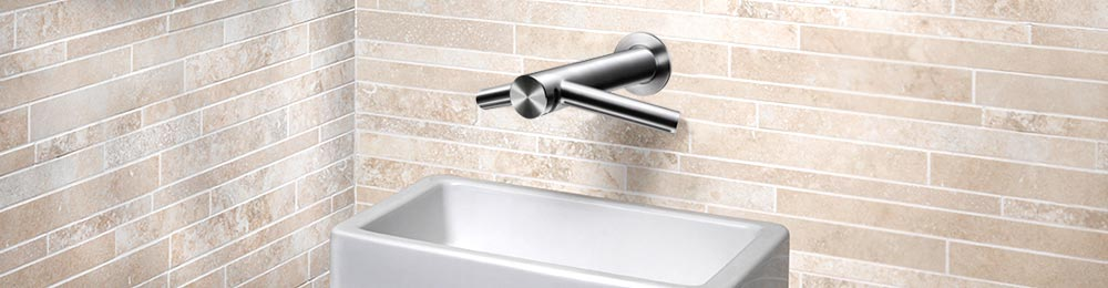 Dyson Airblade Tap Wall with sink